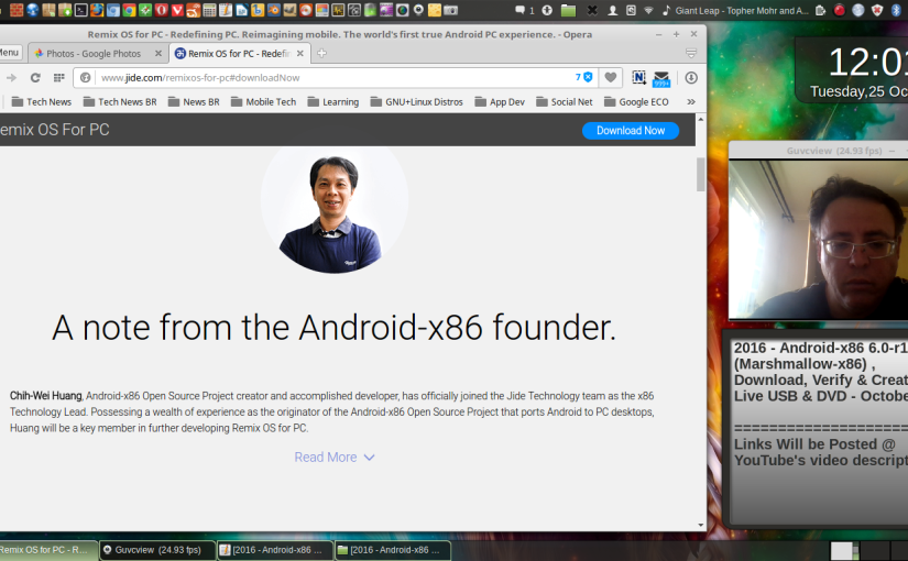 2016 – Android-x86 6 0-r1 (Marshmallow-x86) , Download