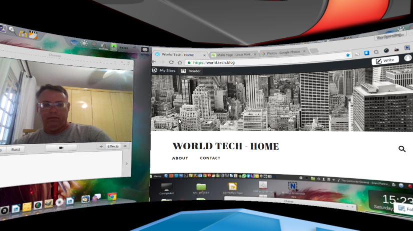 2016 – My Perfect Desktop – Linux Mint 18.1 + Mate Desktop + Cairo Dock + Compiz – December28