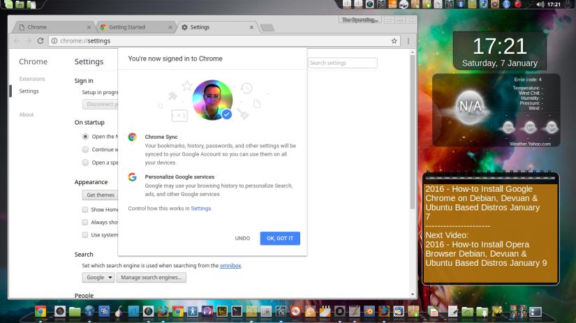 2016 – How-to Install Google Chrome on Debian, Devuan & Ubuntu Based Distros – January7